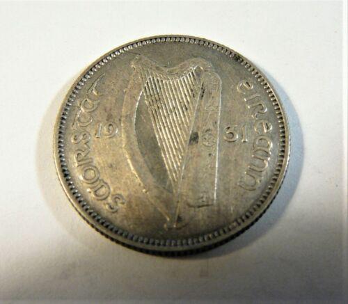 IRELAND 1931 SILVER SHILLING SB1