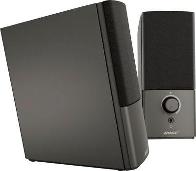 Bose Companion 2 Series Iii Multimedia Speaker System Black