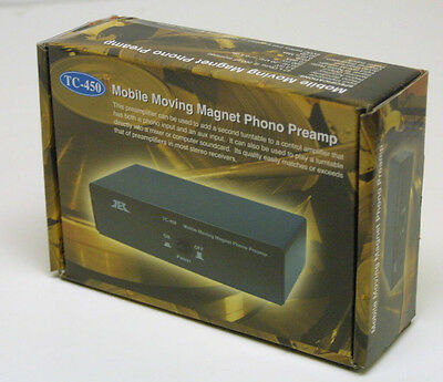 Tcc Tc 450 Mobile Riaa Phono Preamp  No Ac Adaptor