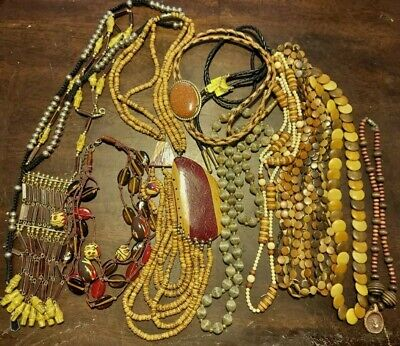 Big lot of Multi Culture Necklaces