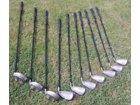 Ladies R/H Titleist LaFemme L-Flex Oversize irons + woods