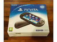 Sony PS Vita console with Little Big Planet