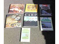 7 different coarse fishing books