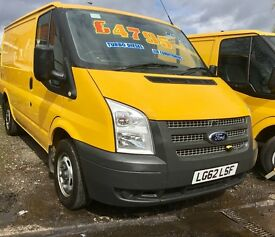 Ford Transit Ex AA 61-62 Regs From £3795 Plus Vat