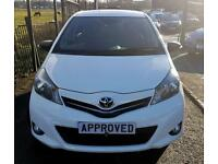 TOYOTA YARIS 1.3 VVT-I TREND 5d 98 BHP Apply for finance Online today! (white) 2012