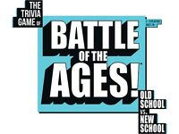 Goliath Games Battle of the Ages board game BNIB
