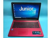 Asus Slim HD Laptop, 4GB, 500GB HDMI, Windows 10, Lightweight, Microsoft office,Excellent Condition