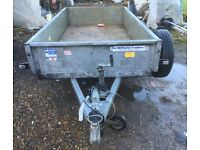 Ifor Williams towing trailer 8x4 1400kgs