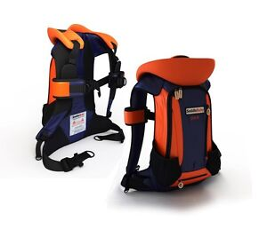 Saddle baby carrier and backpack