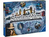Scotland Yard Board Game - As NEW Opened Not Used