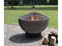 Firepit Firebowl Clay Wood Burner