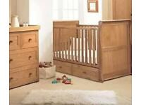 East Coast Cot Bed Nursery Changing Chest of Drawers