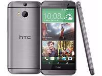 Brand New and SEALED HTC One M8 32GB Unlocked Smartphone - Gun Metal Grey
