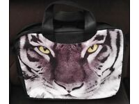 NEW TIGER PATTERN - DECORATIVE 15.6 LAPTOP SLEEVE CASE BAG WITH SHOULDER STRAP