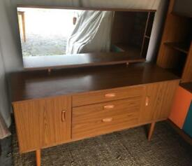 Retro Schreiber Dressing Table/ Sideboard