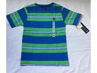 U.S POLO ASSN Boys Stripe T-Shirt - MIXED COLOURS - Sizes 4, 5/6, 7, 8, 10/12, 14/16, 18 NEW