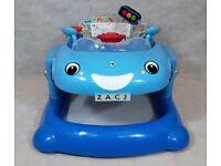 Mothercare 3 in 1 Convertible Car - Bouncer, Walker & Push Along, Blue