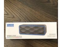Wireless Bluetooth Speaker with HD Audio and Enhanced Bass, Built-In FM