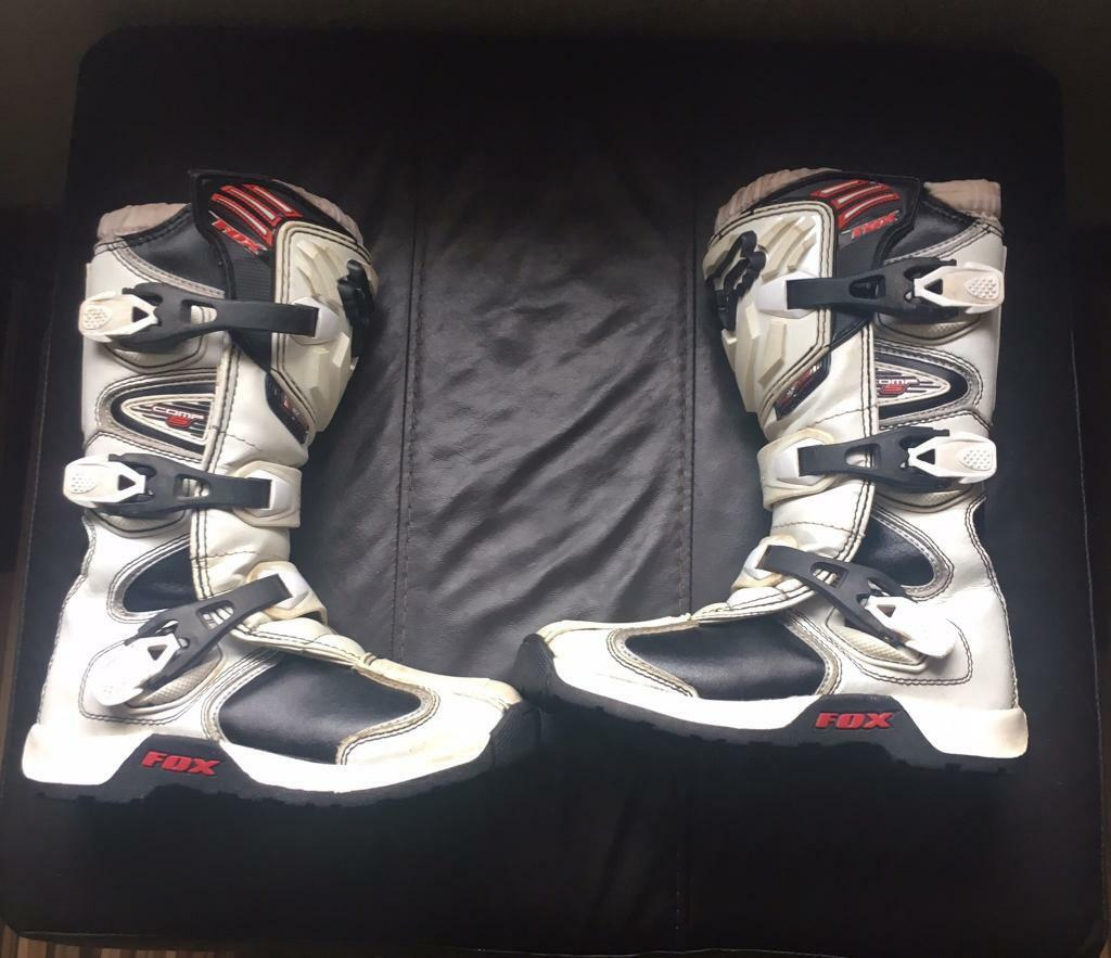 Kids Fox motocross boots