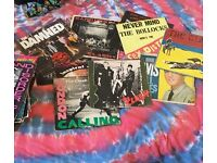Bundle of punk/synth records