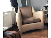 Matthew Hilton Leather Armchair