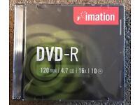 DVD R Imation 10