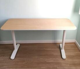 Ikea desk Bekant white
