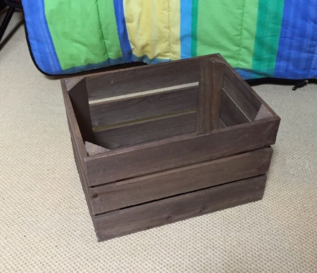 Wooden Crate 35x26x21cm Designed For Retail Display 10 Available 2 Larger Size Crates In Guildford Surrey Gumtree