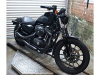 2015 Harley Davidson 883N Iron Denim Black Beauty