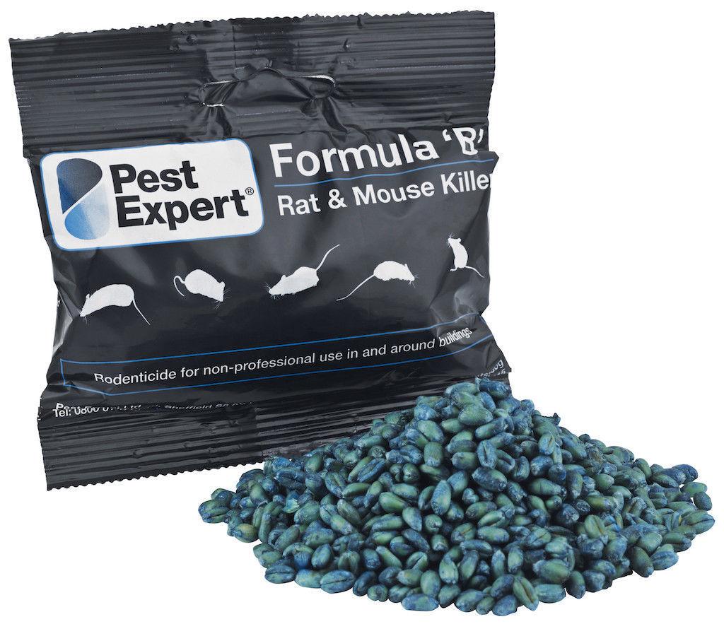 PROFESSIONAL RODENT POISON RAT MICE MOUSE PEST EXPERT FORMULA B RAT KILLER