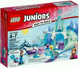 LEGO Junior Frozen Anna and Elsa's Playground Playset-10736 Brand New