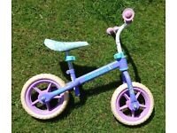 "**Kids ""Disney Frozen"" Balance Bike**"