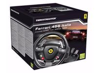 Ferrari F458 Italia Racing Wheel and Forza Motorsport 4 game (Xbox 360)