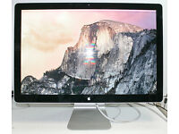 "Apple Cinema LED Display 24"" Widescreen Monitor A1267 MB382LL/A"