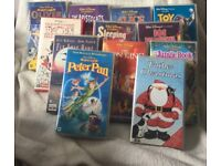 Selection of VHS tapes