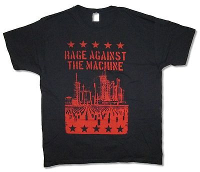 Rage Against The Machine Cemetery Black T Shirt New Official RATM