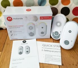 Motorola Baby Monitor MBP8 - less than a month old - bargain!