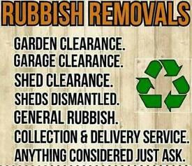 Waste/rubbish removal same day service 07446258964