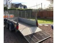IFOR WILLIAMS TRAILER DOUBLE AXELS GD106GM FOR HIRE