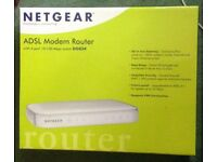 Netgear DG834, Wired Router with 4-port 10/100 Mbps Switch