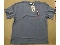 "Mens Weird Fish ""A View To A Grill"" Dark Grey T-Shirt Size L BNWT"