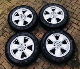 "F56 F55 Mini Genuine 15"" Heli alloy wheels+tyres with working tpms valves and centre caps"