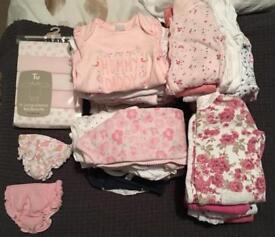 0 - 10lbs baby girl clothes
