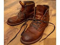 Red Wing Blacksmith Men Leather Boots UK 6