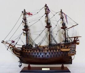 HMS Victory Wooden Model Boat