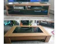 Coffee table and t.v. stand