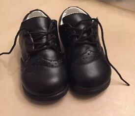 Baby boy wedding shoes size 7