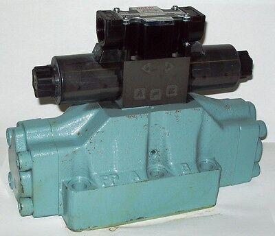 D08 4 Way Open Hydraulic Solenoid Valve Iw Vickers Dg5s-8-s-0c-e-t-wl 12 Vdc