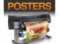 PVC Banner, A0 Poster, T-shirt Printing, Business card in 2 hours - Bow Business Centre E3