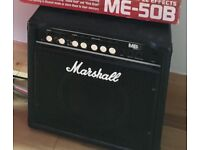Marshall MB series amp plus FREE effects pedal
